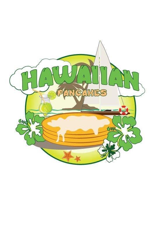 Kilpailutyö #24 kilpailussa Design a Logo for Hawaiian Pancakes