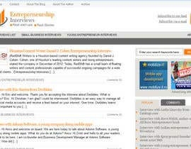 #8 for Design a Logo for Entrepreneurship-interviews.com af Superiots
