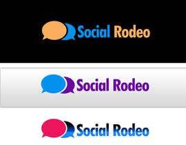 #28 para Design a Logo for Social Rodeo por adilansari11