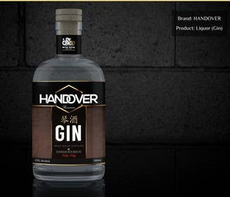 #217 untuk Design a Logo and bottle label for Handover Gin oleh chubbycreations