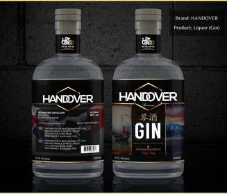#230 untuk Design a Logo and bottle label for Handover Gin oleh chubbycreations