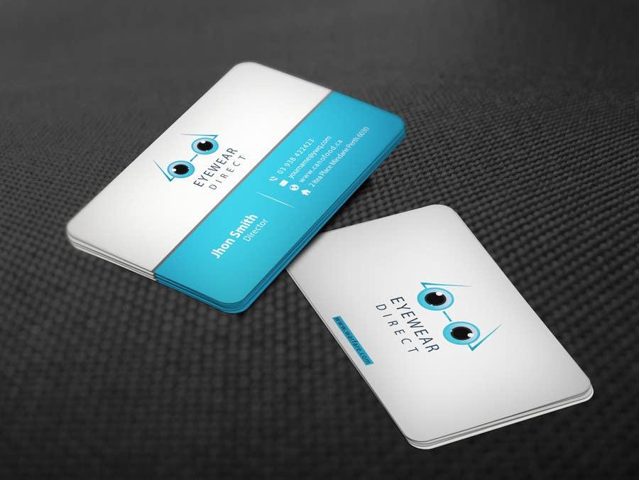 Penyertaan Peraduan #110 untuk Design some Business Cards for Eyewear Direct
