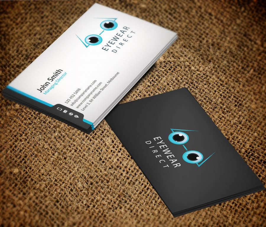Penyertaan Peraduan #111 untuk Design some Business Cards for Eyewear Direct