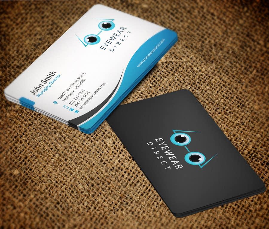 Penyertaan Peraduan #113 untuk Design some Business Cards for Eyewear Direct