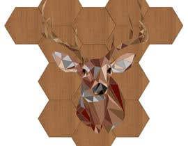 #24 for Illustrate a geometric animal head af SJensen13