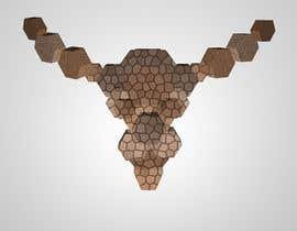 #22 untuk Illustrate a geometric animal head oleh TheresaSuen