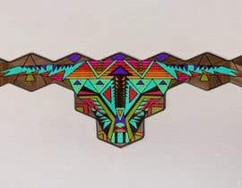 #31 untuk Illustrate a geometric animal head oleh FiaraMalsano