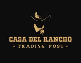 #3 untuk Design a Logo and Identity for Casa Del Ranch Trading Post oleh lisettepatricia