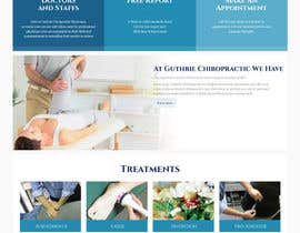 #21 para Design a Website Mockup for Guthrie Chiropractic por edisonmanalo
