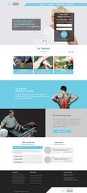 #54 untuk Design a Website Mockup for Guthrie Chiropractic oleh zicmedia