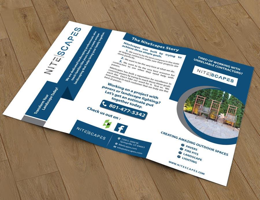 Konkurrenceindlæg #30 for Design a Brochure for Nite Scapes