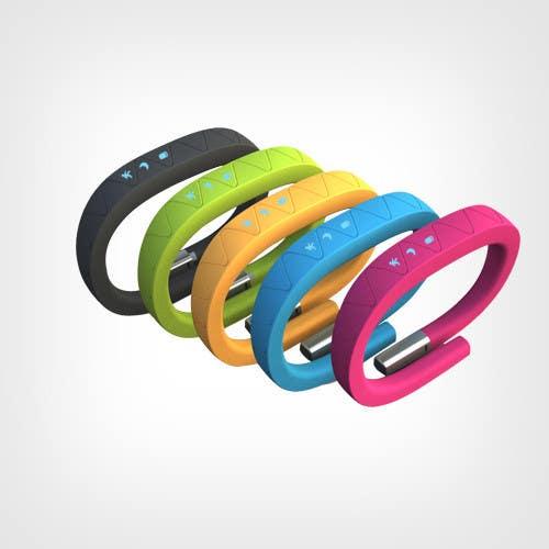 Penyertaan Peraduan #35 untuk Design me a digital counting wristband