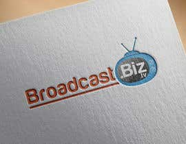 "#8 untuk Design a Company Logo and mascot for ""BroadcastBiz.tv"" oleh georgeecstazy"