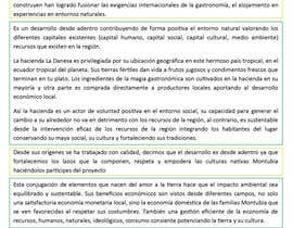 #13 for Escribir contenido para Concurso Sostenible de Turismo by benjidomnguez