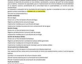 pcaldef tarafından Escribir contenido para Concurso Sostenible de Turismo için no 9