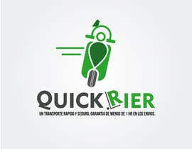 #26 cho Design LOGO for QUICK RIER (fast / courier) bởi benjidomnguez