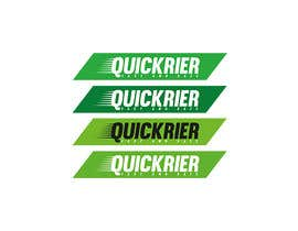 #28 cho Design LOGO for QUICK RIER (fast / courier) bởi TrazoHabil