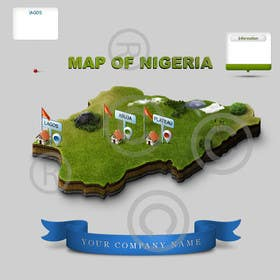 #18 untuk Illustrate Something (map of Nigeria) oleh gmorya