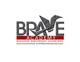 #61 untuk Design a Logo for BRAVE Academy oleh ginjin