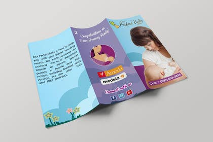 #22 for Design a Tri-Fold, Bi-Fold, business card template and 1 page brochure for our company: Our Perfect Baby. af msdvenkat