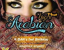 "#13 cho Design a Flyer/Poster for ""ARABIAN NIGHTS"" Theme Event bởi aboodymaher"