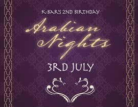 "#36 untuk Design a Flyer/Poster for ""ARABIAN NIGHTS"" Theme Event oleh ysmaelbuena"