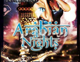 "#26 untuk Design a Flyer/Poster for ""ARABIAN NIGHTS"" Theme Event oleh misharichet"