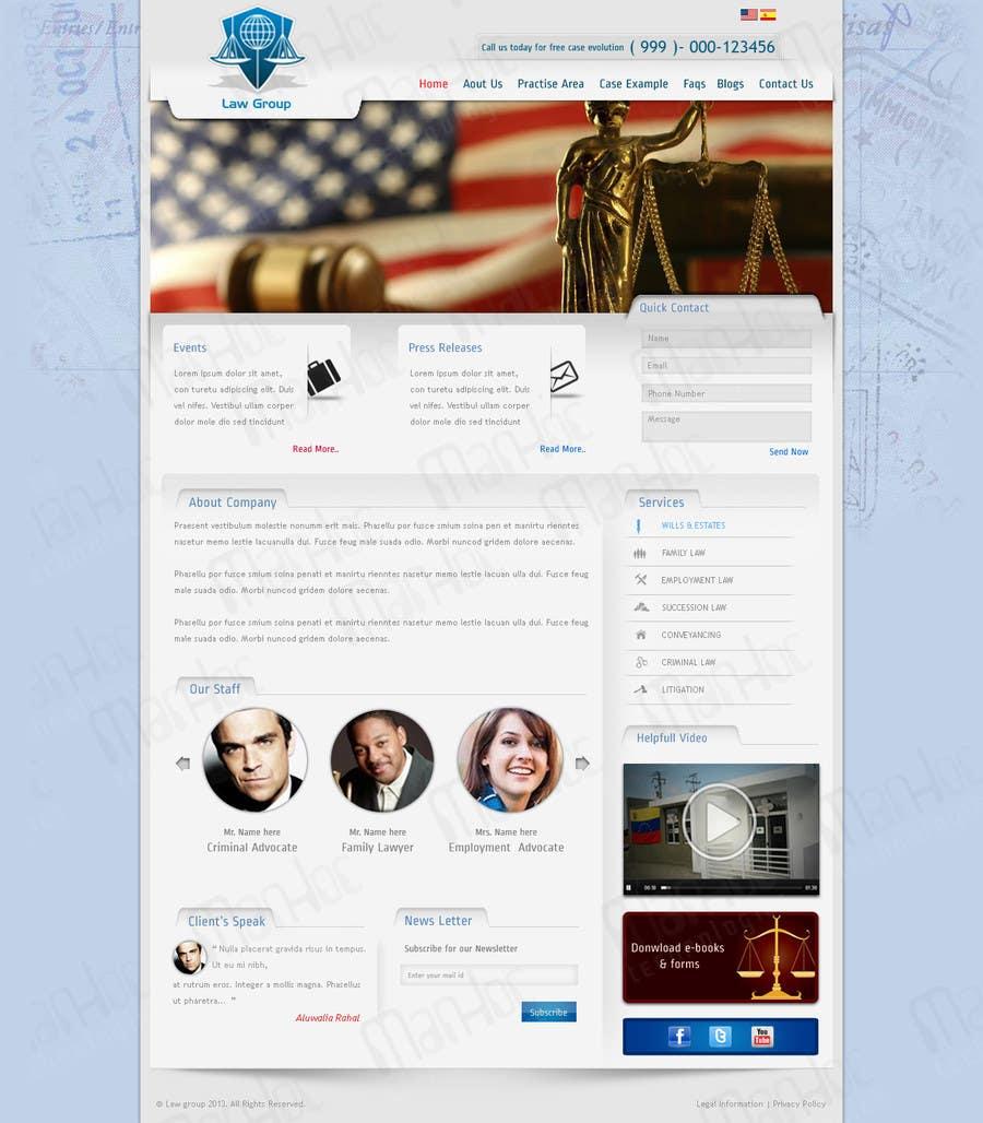 Bài tham dự cuộc thi #                                        28                                      cho                                         Build a Website for Law Group
