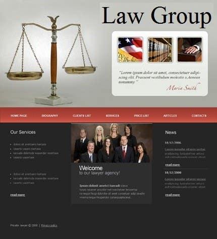 Bài tham dự cuộc thi #                                        46                                      cho                                         Build a Website for Law Group