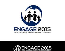 #9 for Design 2 x Logo for a Conference on Family Discipleship & Home Education by dlanorselarom