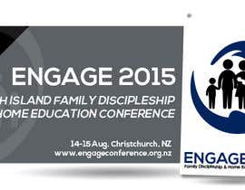 #22 untuk Design 2 x Logo for a Conference on Family Discipleship & Home Education oleh dlanorselarom