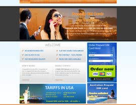 #43 for Make a new design for homepage... by amfahsoft