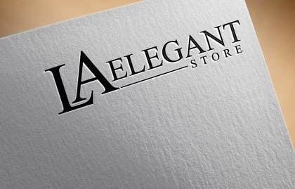 #10 cho Design a Logo for La Elegant store bởi zubidesigner