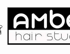 Nro 26 kilpailuun Design a logo amber hair studio käyttäjältä thdesiregroup