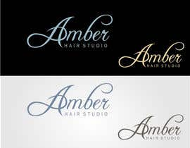 #43 for Design a logo amber hair studio af stoilova