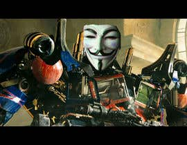 #14 for V FOR VENDETTA    VS    OPTIMUS PRIME af joseantoniomv