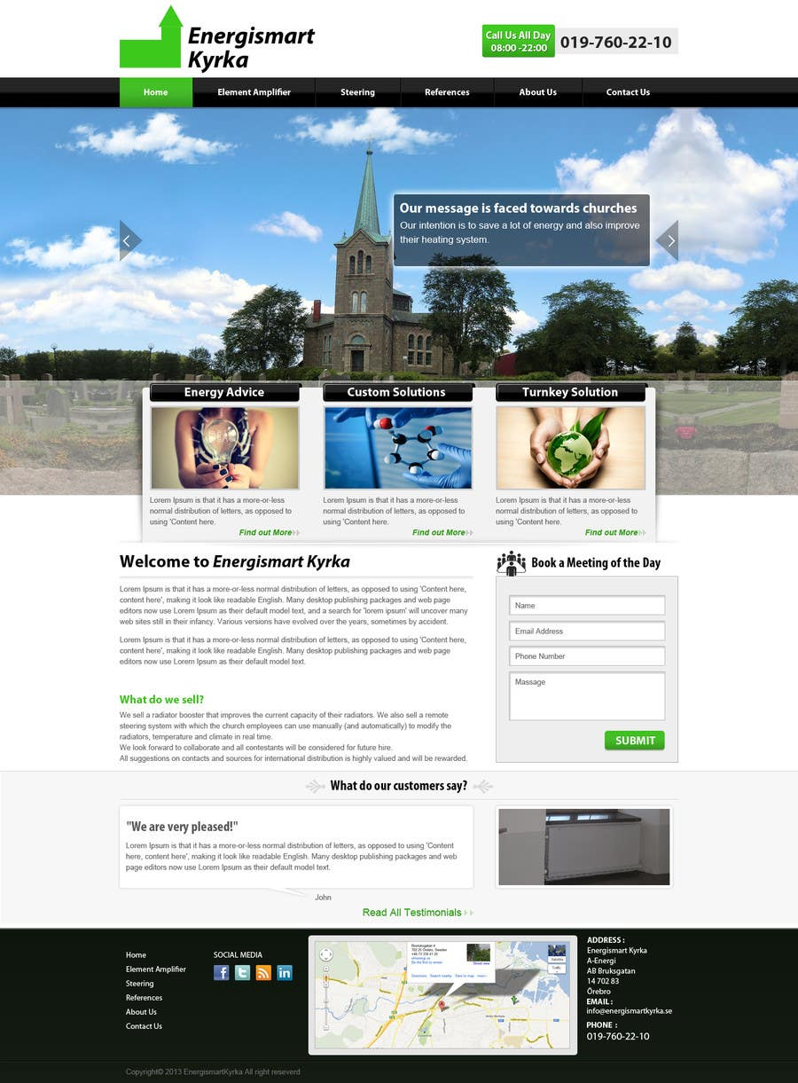 Konkurrenceindlæg #22 for Build a wordpress site similar to www.hydropool.se