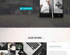#3 para Landing page design for marketing agency por sethsahab