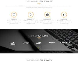 #7 cho Landing page design for marketing agency bởi saddy007