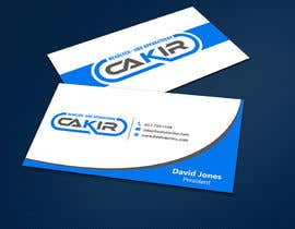 #45 untuk Design of a Businesscard and a letterhead for the Company CAKIR oleh ALLHAJJ17