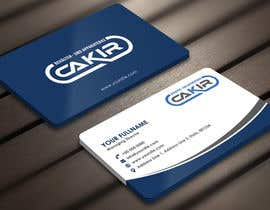 #55 para Design of a Businesscard and a letterhead for the Company CAKIR por Derard