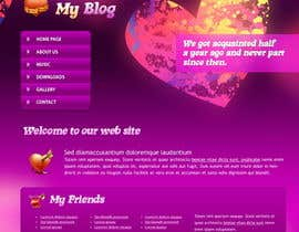 #2 para Ontwerp een Website Mockup for datingwebsite por sudeepgiri