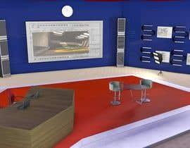 Nro 2 kilpailuun Do some 3D Modelling for virtual set on maxon käyttäjältä modinoart