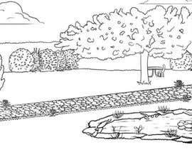 #11 for J'ai besoin d'une conception graphique pour réaliser une illustration de jardin af marcokap