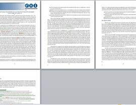 #2 for Design a Whitepaper layout in Microsoft Word format af Drobbi