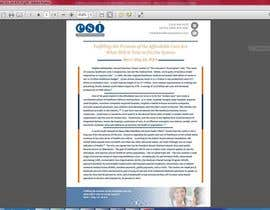 #13 for Design a Whitepaper layout in Microsoft Word format af AhmedTarek03