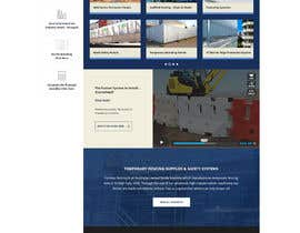 dani786 tarafından Design a Website Mockup for Fortress Fencing Building Homepage için no 16