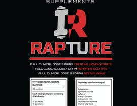 #10 for Design a Logo and Label for Pre workout supplement af hics
