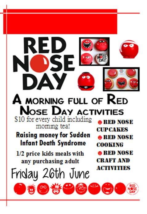 Entry  By Todd For Red Nose Day Fundraising Flyer  Freelancer