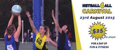 #9 untuk Design a Banner for Netball Carnival oleh goranjokanovic